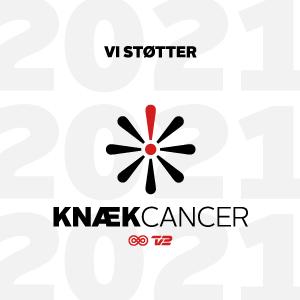 """Alfix støtter kampagnen """"Knæk cancer""""."""