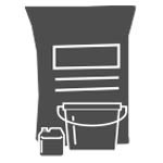 Alfix har i mange år arbejdet med miljøvenligt materiale til vores emballager.  Samtlige Alfix sække og poser er lavet af højkvalitets miljøvenligt papir, og de fleste plastspande er lavet af genbrugsplast.  Vi arbejder lige nu på at overgå til genbrugsplast på de resterende spande, hvilket også er tilfældet for vores produkter, der leveres i dunke.